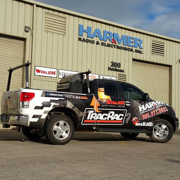 harmer vehicle wrap