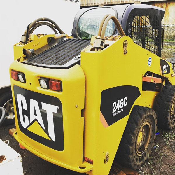 cat heavy equipment vinyl decal