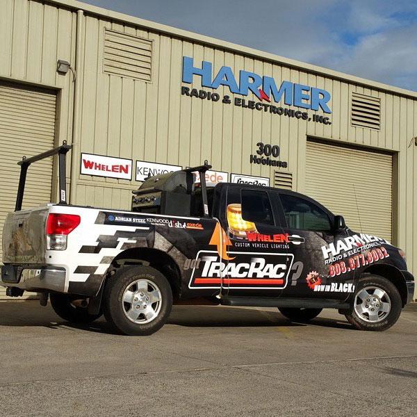 harmer vehicle wrap