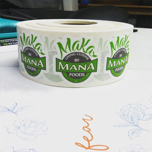 mana foods stickers